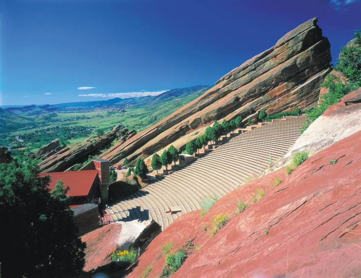 Red Rocks Amphitheater Morrison Co
