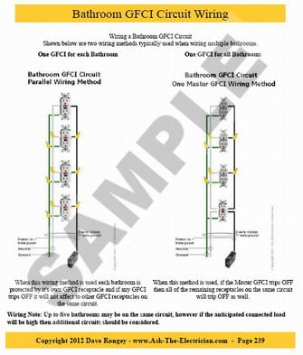 bathroom gfci circuit wiring electrical home wiring in 2019 bathroom gfci circuit wiring electrical home wiring in 2019 house wiring electrical projects home electrical wiring