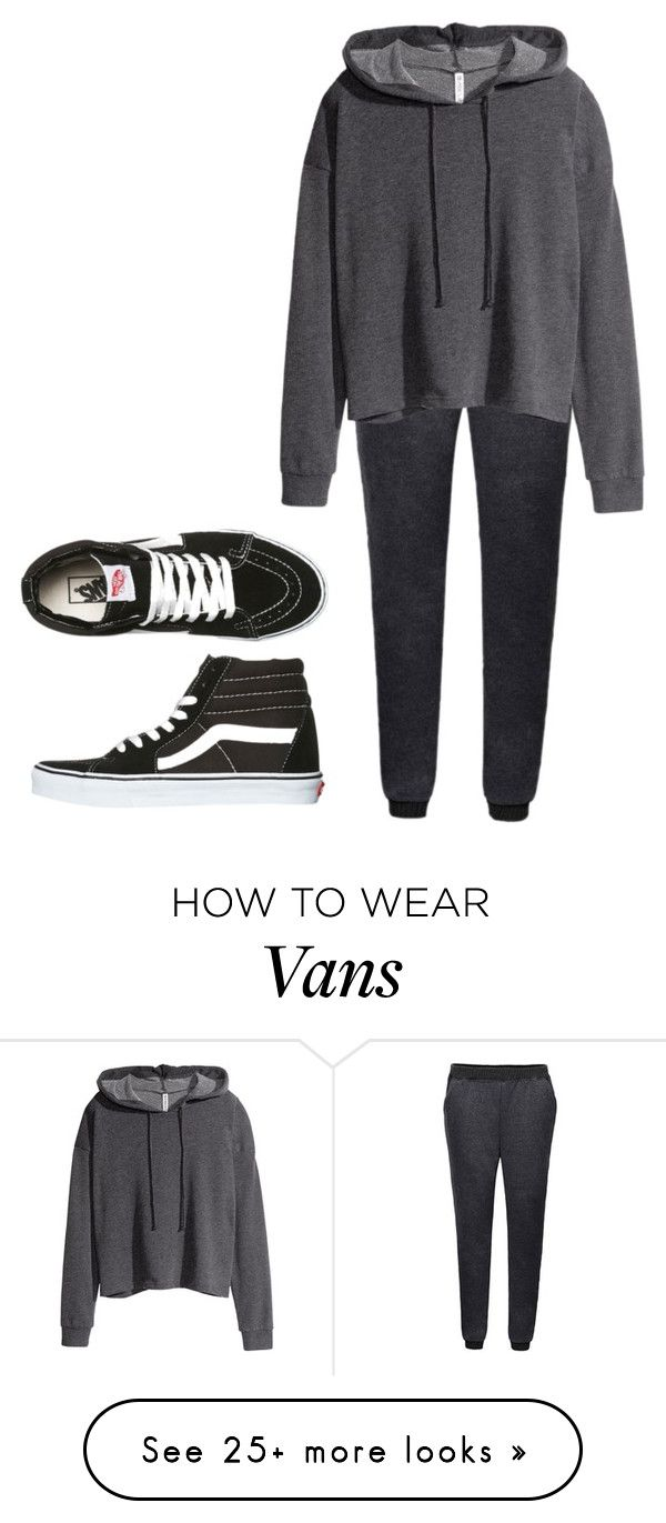 """Untitled #196"" by worthlesschild on Polyvore featuring H&M and Vans"