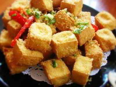 Tahu Brintik - Simak rahasia cara membuat video resep tahu brintik crispy saus mayonaise khas sajian sedap krispi bandung surabaya paling renyah serta dan garing disini.