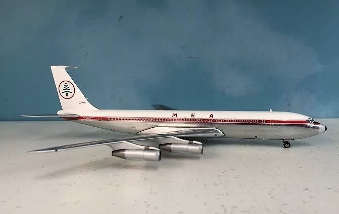 INFLIGHT200 Boeing 707-300 MEA MIDDLE EAST AIRLINES OD-AFB #INFLIGHT200