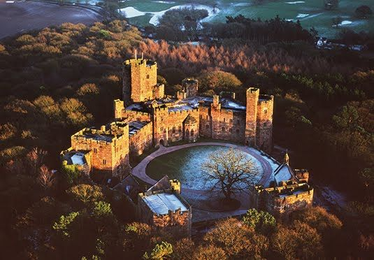 A fairy-tale stay at a dramatic Cheshire hilltop fortress, with breakfast, dinner, spa discount and an optional spa treatment