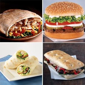 Best Fast Food Burgers and Sandwiches | CookingLight.com