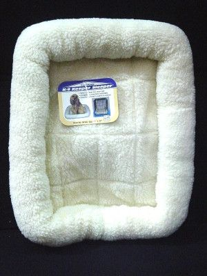"""DOG BEDS & LOUNGERS - K-9 SLEEPER PAD - 23.5"""" x 17.5"""" NATURAL - CENTRAL - FOUR PAWS PRODUCTS - UPC: 45663581244 - DEPT: DOG PRODUCTS"""