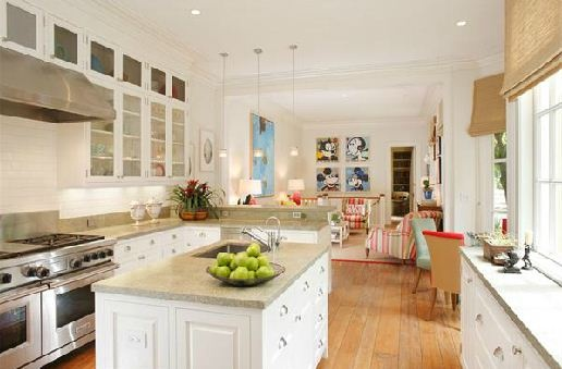 Kitchen With Play Area For Kids For The Home Pinterest
