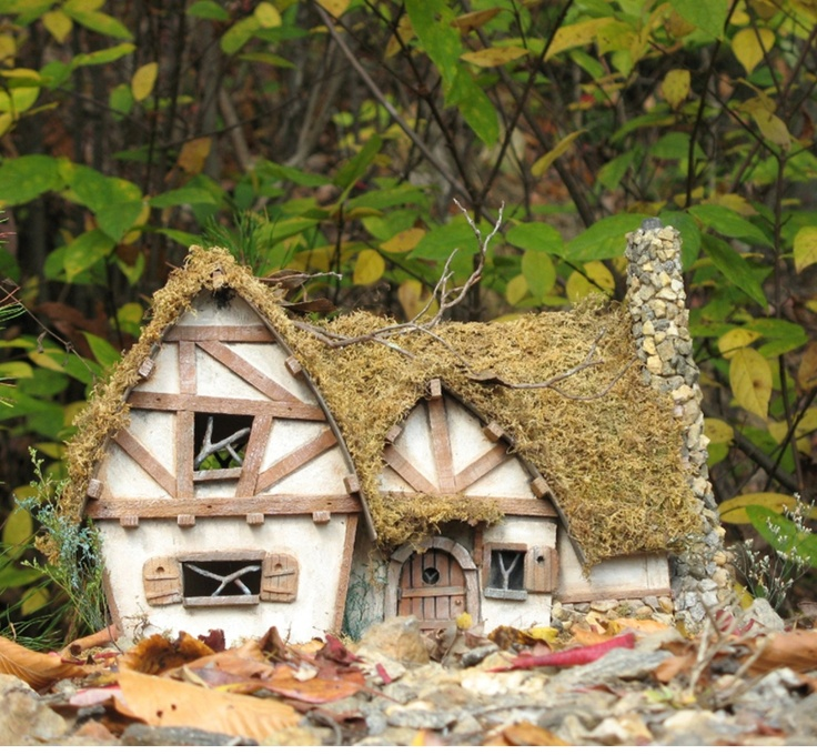 Cotswold Cottage Custom Fairy House From