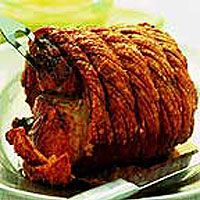 Roast Pork with Perfect Crackling and Apple Sauce - helpful basic instructions.