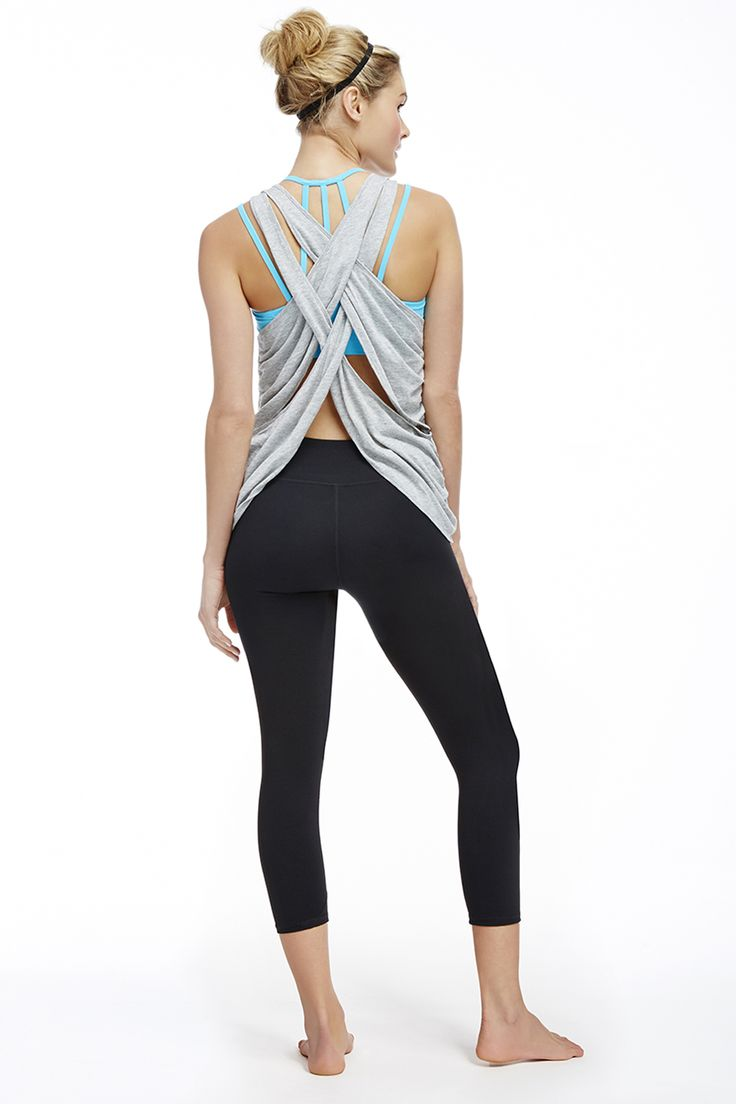Gorgeous top! Go from gym to dinner with this sexy back! Use my special invite link and get first outfit for $25 www.fabletics.com/invite/amorgan #fableticsmaster #sexyback
