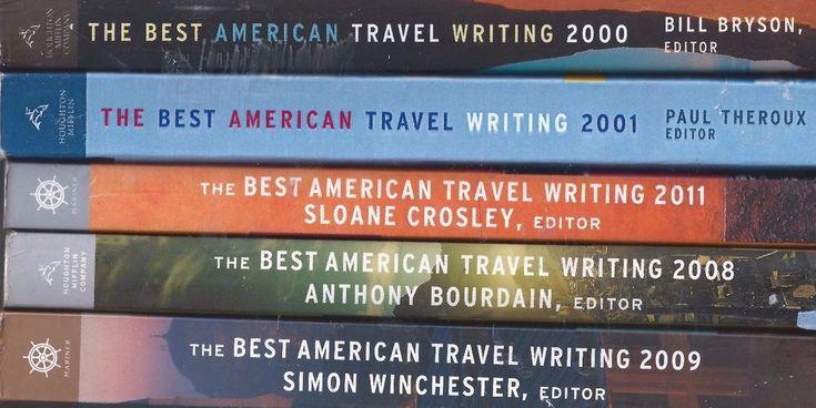 Best American Travel Writing X5 lot Bill Bryson Anthony Bourdain Paul Theroux