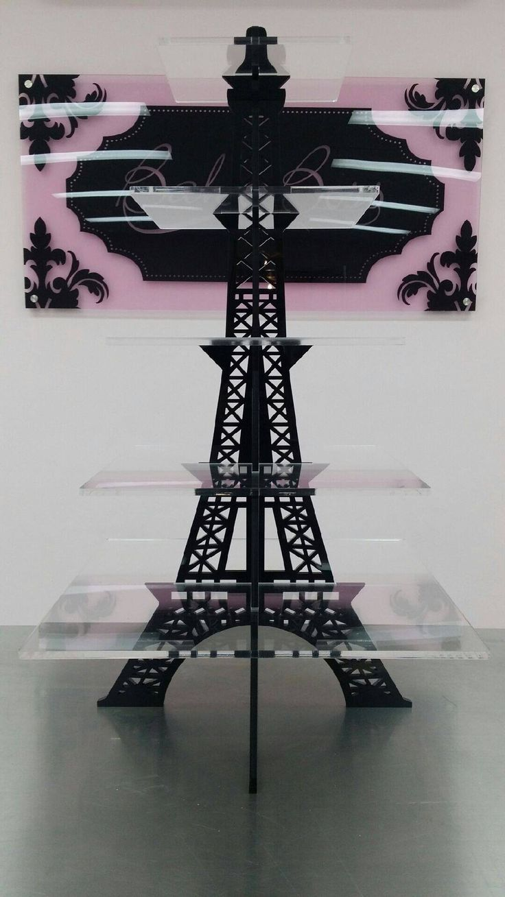 Eiffel Tower Cupcake Stand Cool Tanny S 15 Paris
