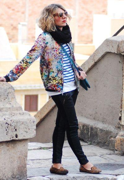 С чем носить бомбер / женская куртка бомбер: советы, фото   Блог о рукоделии и моде