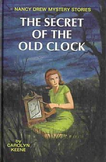 Nancy Drew books - could not get enough of these stories as a kid. :-) Dust Jackets, Nancydrew, Old Clocks, Nancy Drew Book, Favorite Book,  Dust Covers, Book Jackets, The Secret,  Dust Wrappers