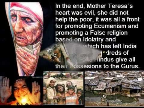 Mother Teresa is a Fraud! (What the Pope wishes Christopher Hitchens did not expose) - 1 of 3 - YouTube
