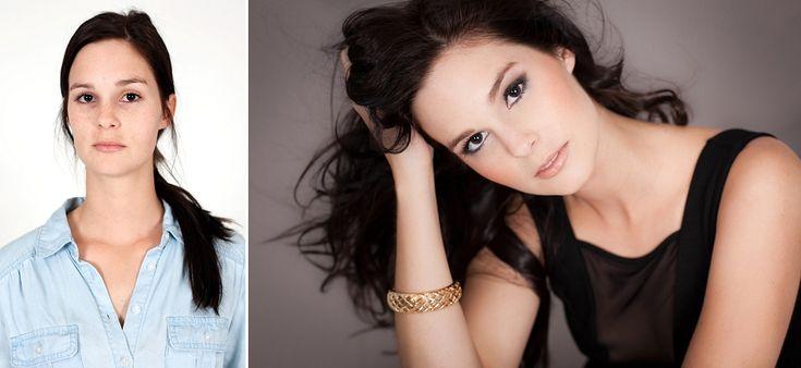 Glamour Makeover shoot