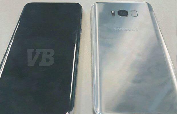 Specificatiile telefonului Galaxy S8 si o imagine care dezvaluie designul lui