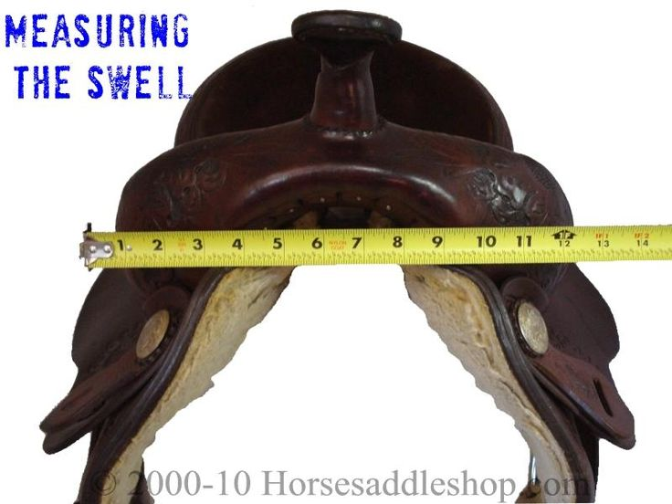 Measuring, Describing, and Knowing Your Own Western Saddle  Lots of great info! and they have a downloadable saddle fitting pack!!