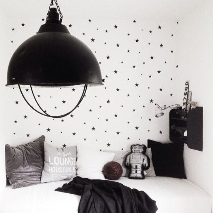 (via bloglovin.com) When we talk about kids' decor for bedrooms, we used to think about colourful spaces, plenty of prints and drawings. However, we don't realize that we can also have a spectacular children's bedroom just using black and white. If you play with shapes and textures, you will get surprising and funny atmospheres without lots of […]