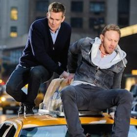 'Sharknado 2: The Second One' Review: Double The Sharks, Double The Fun. #Sharknado2 #Sharknado2TheSecondOne #WilWheaton #ThunderLevin #TaraReid #IanZiering #MarkMcGrath #VivicaAFox #AlRoker #MattLauer #BillyRayCyrus #TV #TVReview #TVReviews #MadeForTVMovie #Sharknado
