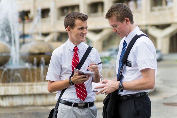 La journée d'un missionnaire raconté par des gifs.