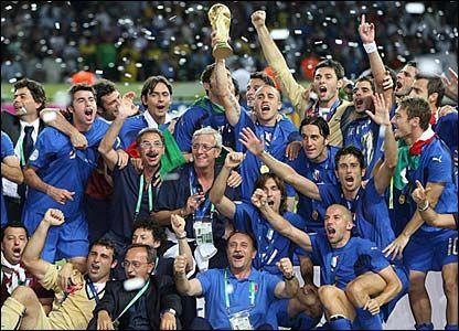 Italy- Winners of 2006 World Cup.  Facebook: facebook.com/FloridaYouthSoccer Twitter: @FYSASoccer Website: www.fysa.com