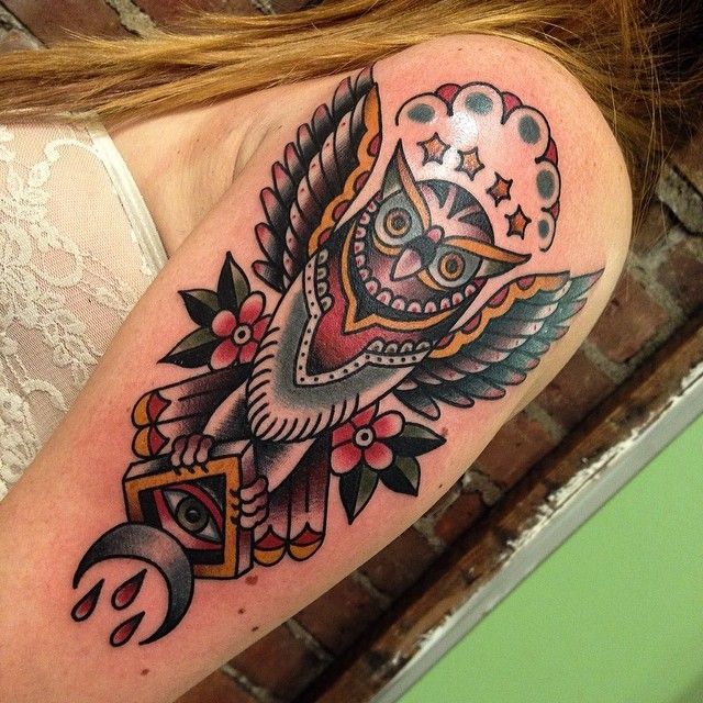 Instagram photo by @matthew_houston via ink361.com #tattoo #traditionaltattoo