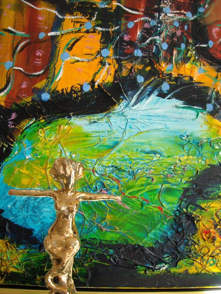 Kunst maleri, kunstudstilling