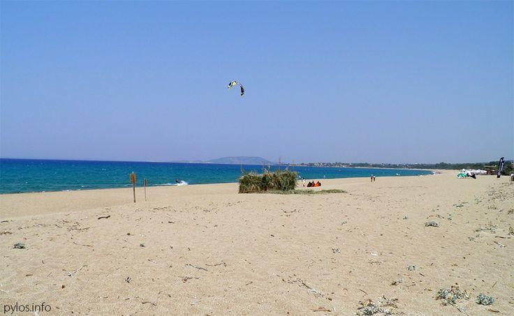 Romanos Beach Pylos, Messinia, Greece http://pylos.info