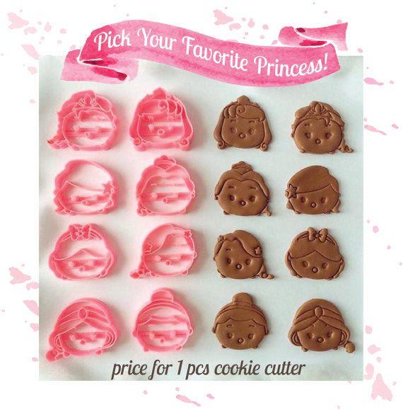 Principessa Disney Tsum Tsum Cookie Cutter 1 pz di AwwsomeStudio