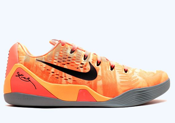Nike Kobe 9 EM - Peach Cream - Bright Mango - Cannon - Medium Mint -
