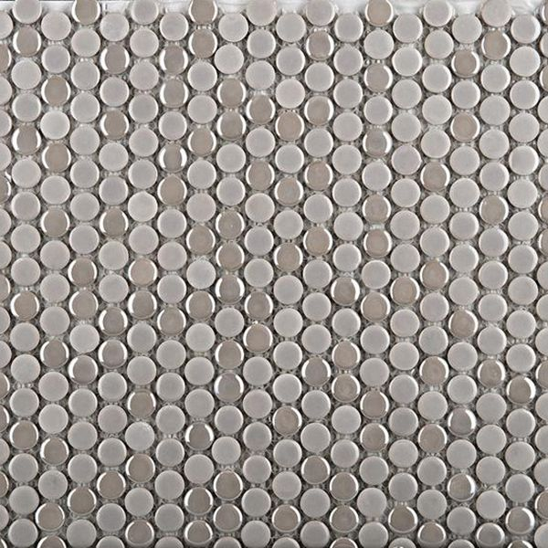 Check out the deal on Emser Confetti - Silver Penny Round Mosaics at GBTile Collections