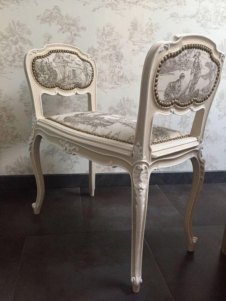 Les 25 meilleures id es de la cat gorie fauteuil ancien sur pinterest chaise voltaire - Meuble ancien restaure ...