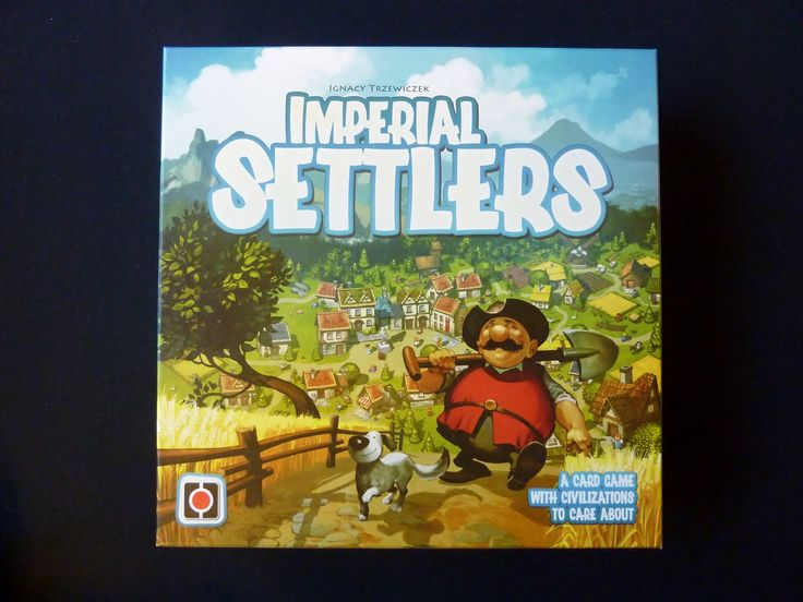 Imperial Settlers Board Game