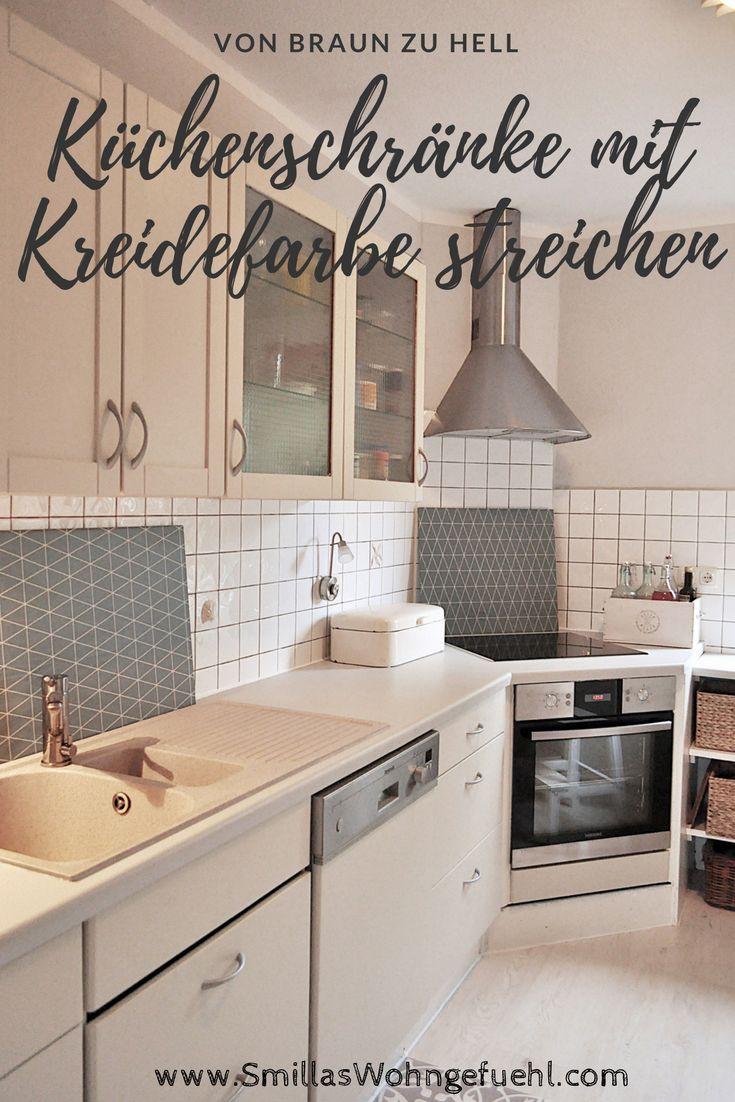 Die besten 25+ Küchenschränke streichen Ideen auf Pinterest ...