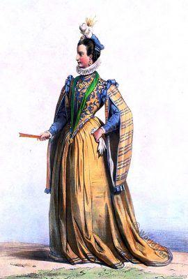 Renee de Rieux, demoiselle de Châteauneuf.