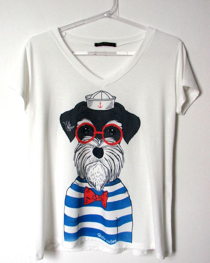 Camiseta Trapézio Feminina - Marinheiro