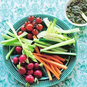 Recept - Groenten met ansjovissaus - Allerhande