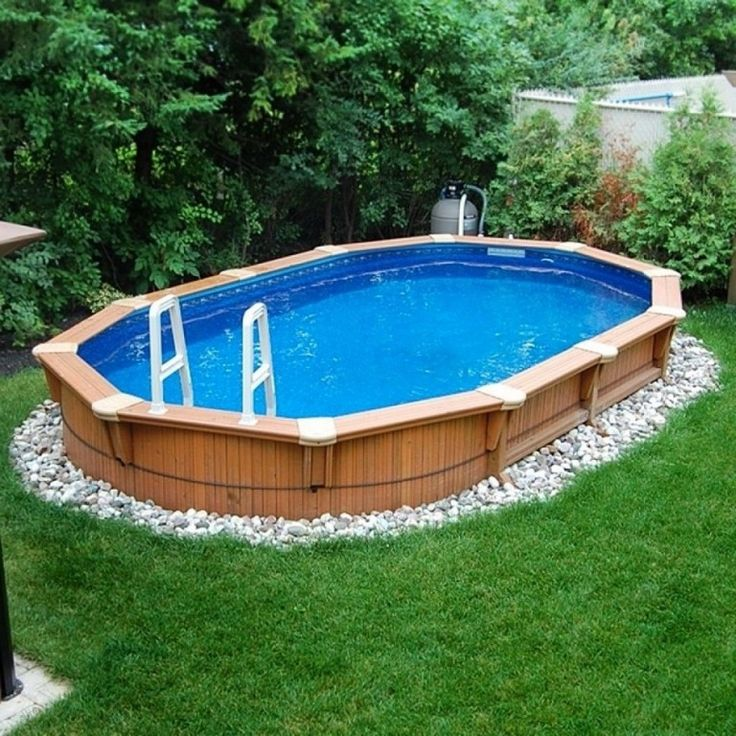 Best 20 oval above ground pools ideas on pinterest for Above ground pond ideas