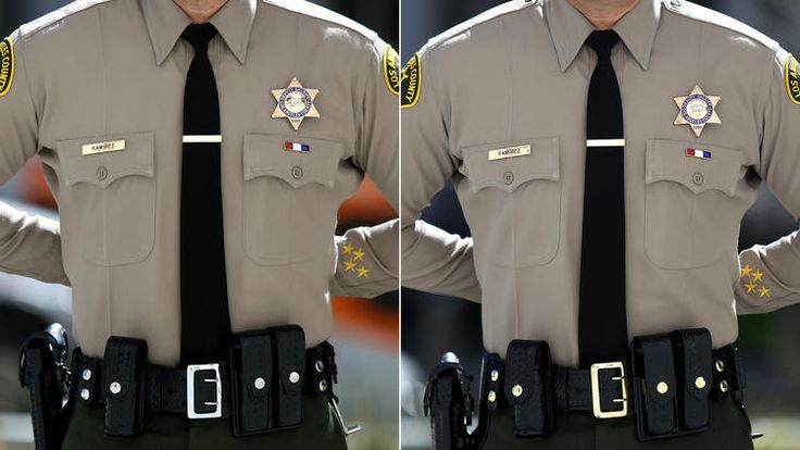 The Los Angeles County Sheriff's Department is getting down to brass tactics.  Sheriff's officials are spending $300,000 on items they say would make deputies look more professional in their jobs and could help make them safer.  But the taxpayer dollars won't go toward tools such as higher-quality ballistic vests, backup guns or body cameras, all of which are optional items that deputies have to pay for on their own.