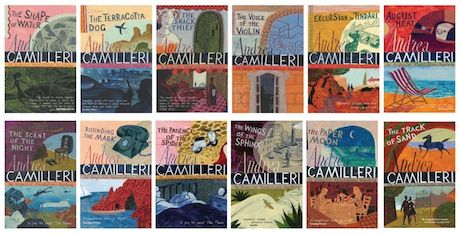 The Inspector Montalbano series by  Andrea Camilleri.