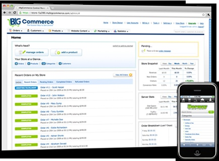 BigCommerce is a powerful hosted eCommerce solution.
