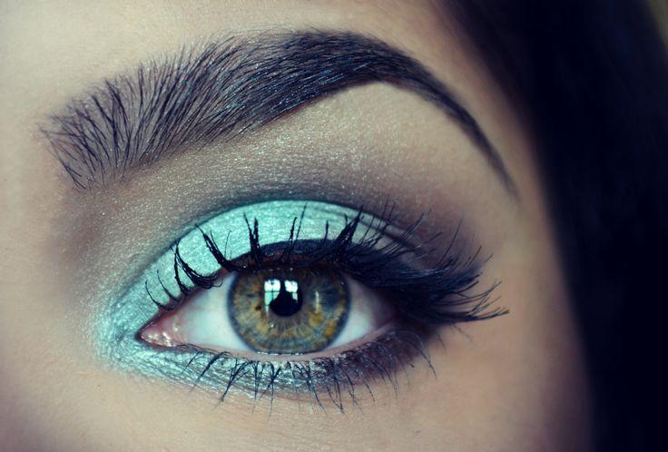 Eyes Makeup - verde agua