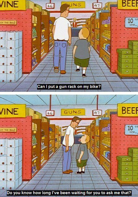 King of the Hill. I love(d) this show so much.