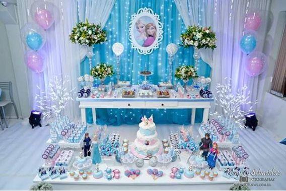 101 fiestas: Frozen la fiesta más solicitada por las niñas
