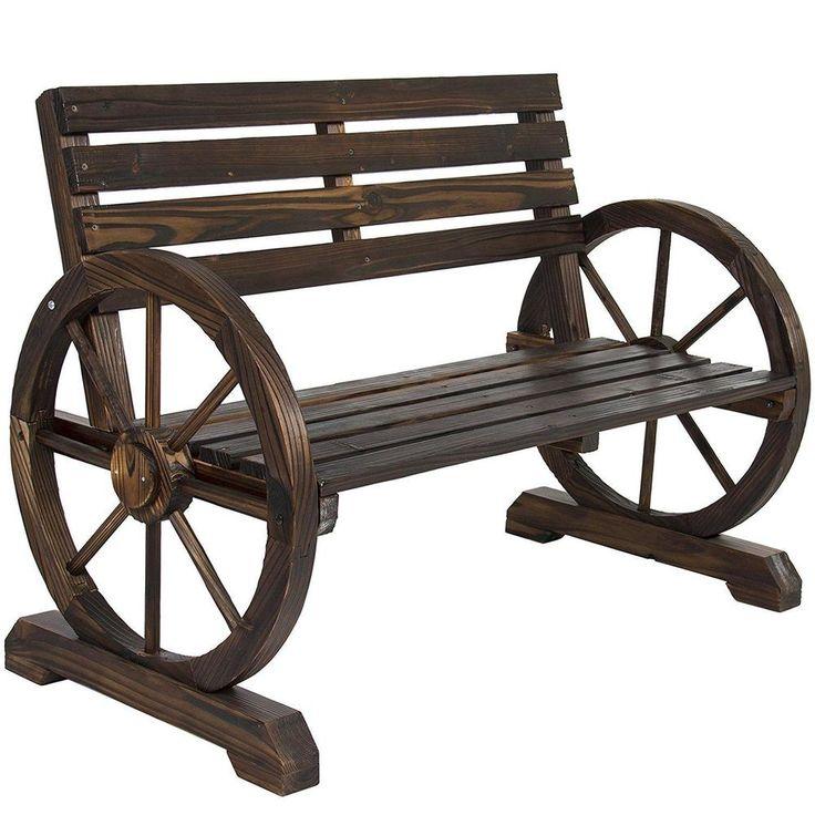 Cientos de ofertas con descuento y envío Gratis >>> Best Choice Products Patio Garden Wooden Wagon Wheel… Visita nuestra Ebay stores >>>