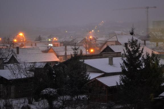 Winter in Deva