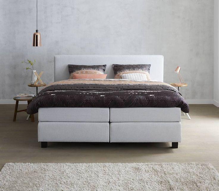 TwentyFour | Concept waarbij u met 5 eenvoudige stappen uw eigen bed kan samen stellen. #boxspring