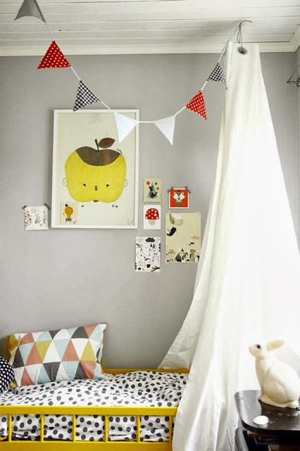 Yellow + Grey | Bedroom ideas | Children's lifestye www.nicolehenriques.com