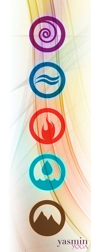 The five elements: ether, air, fire, water and earth. #5lements #ayurveda