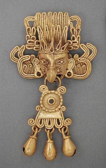 Mexico, Oaxaca, Mixtec (?)Necklace, A.D. 1100-1520