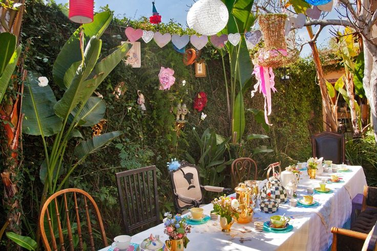 alice and wonderland tea party - Google Search